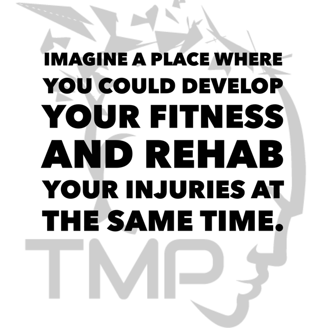 develop fitness and rehab at the same time
