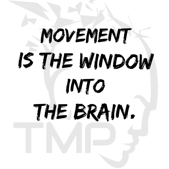 movement is the window into the brain