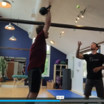 visual challenges with kettlebell work