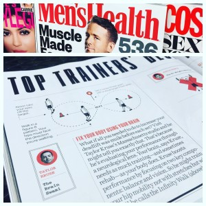 men's health article. taylor kruse