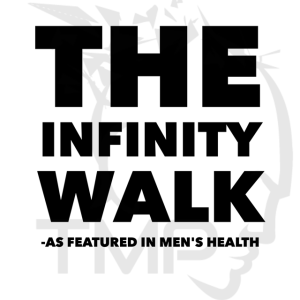 the infinity walk as featured in men's health magazine